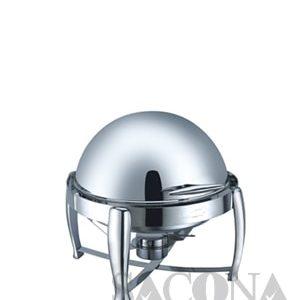 Round Roll Top Chafing Dish/ Nồi Hâm Thức Ăn Sacona Tròn