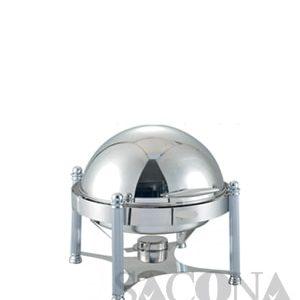 Round Roll Top Chafing Dish/ Nồi Hâm Buffet