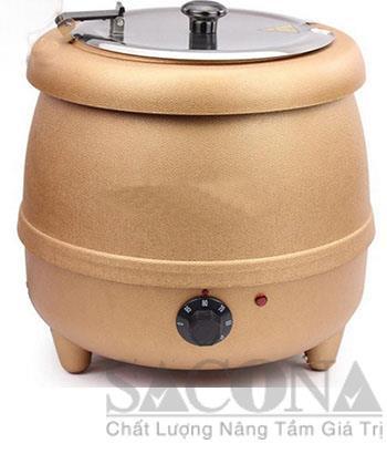 Electric Soup Warmer/ Nồi Hâm Cháo – Soup Dùng Điện Có Điều Chỉnh- Thiết bị dụng cụ tiệc Buffet