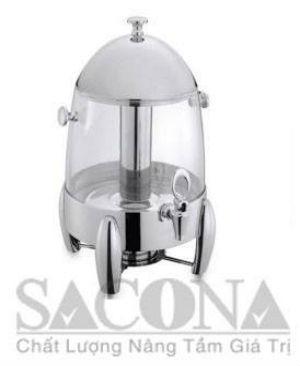 Bình Đựng Sữa Sacona Thân Nhựa Trong
