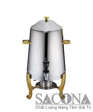 Stainless Steel Coffee Dispenser / Bình Hâm Caffe Sacona Chân Vàng