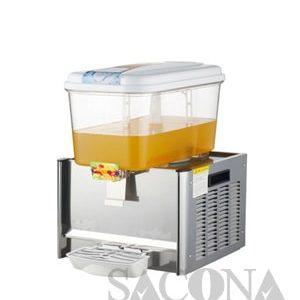 Stainless Steel Electric Cooling Juice Dispenser/máy Làm Lạnh Nước Trái Cây Sacona 1 Ngăn ( Có Điều Chỉnh Nhiệt Độ )