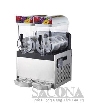 Electric Slush Machine / Máy Làm Kem Đá Tuyết 2 Ngăn