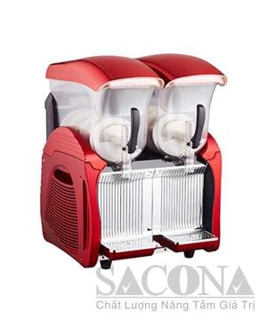 Deluxe Electric Slush Machine / Máy Làm Kem Đá Tuyết 2 Ngăn