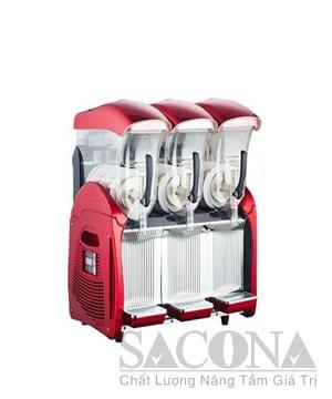 Deluxe Eelectric Slush Machine / Máy Làm Kem Đá Tuyết 3 Ngăn