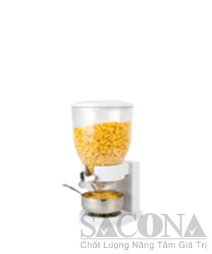 Plasstic Single Head Cereal Dispenser / Bình Đựng Ngũ Cốc Sacona Đơn