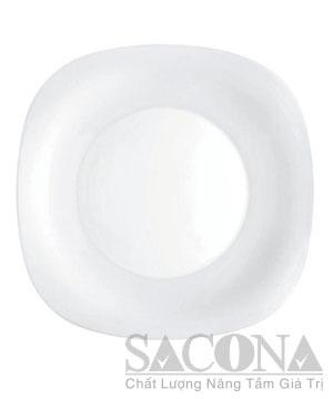 Glass Square Plates/ Đĩa Vuông Thủy Tinh Parma Bormioli