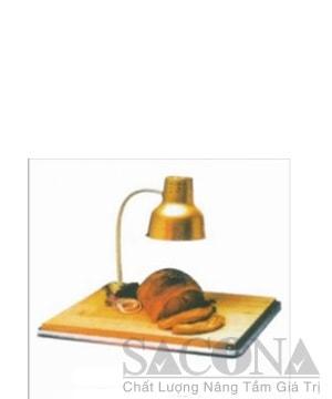 Đèn Hâm Nóng Thức Ăn Đơn ( Inox Mạ Vàng)