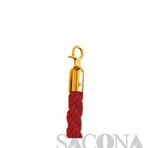 Rope/ Dây Xoắn Đỏ Cột Chắn Inox