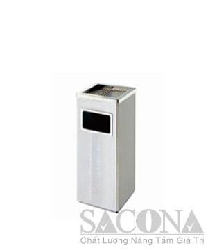 Garbage Can/ Thùng Rác Inox Vuông