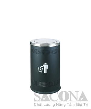 Garbage Can/ Thùng Rác Inox Trang Trí