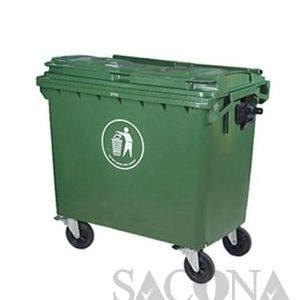 Sile-Wheel Garbage Bin/ Thùng Rác Công Nghiệp