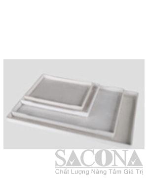 Rectangual Plastic Tray / Khay Nhựa Hình Chữ Nhật