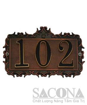 Room Number / Biển Số Phòng