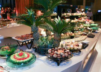 cách bố trí tiệc buffet