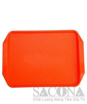 Nhựa Phục Vụ / Rectangle Plastic Serving Trayskhay