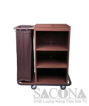 Xe Phục Vụ Phòng 1 Túi /Guest Room Service Cart