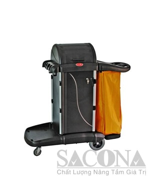 Xe Dọn Vệ Sinh / Multipurpose Cleaning Cart With Cover