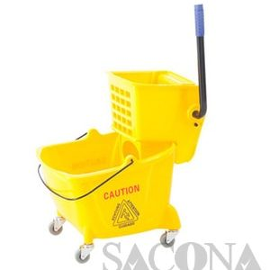Xe Vắt Nước Đơn / Single Mop Wringer Trolley