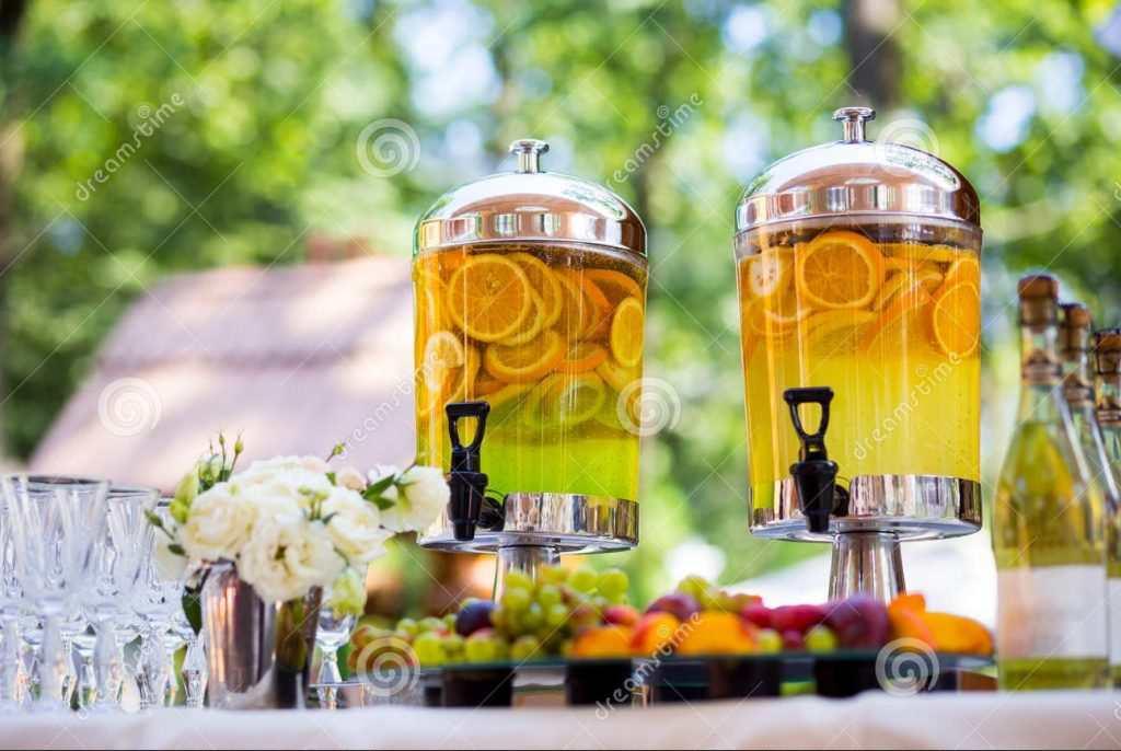 bình nước trái cây hoa quả
