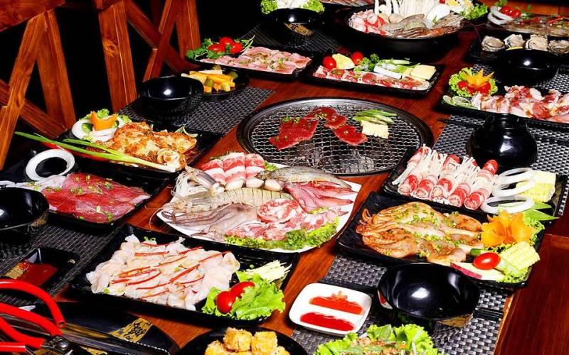tiệc buffet giá rẻ ở sài gòn
