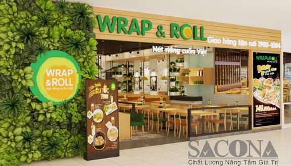Nhà hàng Wrap & Roll Vincom Lê Văn Việt