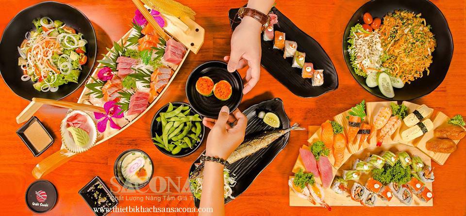 UCHI SUSHI - Nhà Hàng Buffet Sushi Nhật Bản