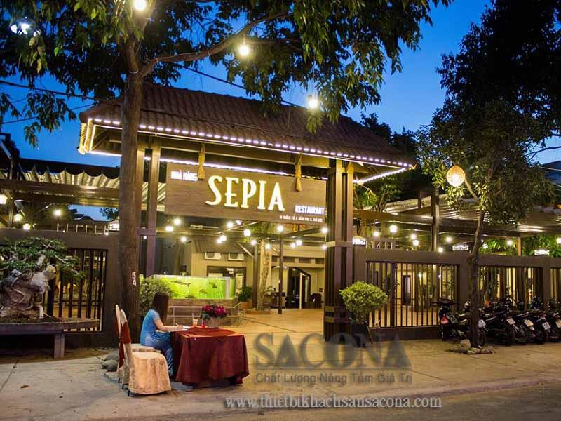 Nhà hàng Sepia - 1 Khổng Tử, P. Bình Thọ, Q